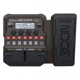 Zoom A1X Four Acoustic Multi-Effects Processor with Expression Pedal