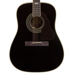 Silvertone 955BK Dreadnought Acoustic Guitar