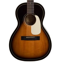 Silvertone 604AVS Parlor Body Acoustic Guitar in Vintage Sunburst
