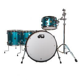 Drum Workshop Collectors Series 4-Piece Jazz Shell - Lazer Blue