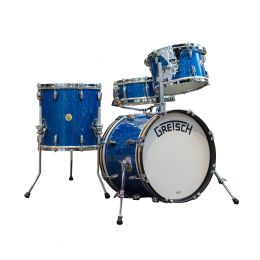 Gretsch Broadkaster Series 4pc Bop Kit in Blue Glass