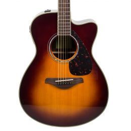 Yamaha FSX830C Concert Cutaway Acoustic Electric - Brown Sunburst