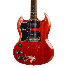 Gibson Tony Iommi Lefty Monkey SG Replica 1964 SG Special in Faded Red