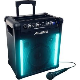Alesis TransActive Wireless 2 Portable Rechargeable Bluetooth Speaker w/Lights