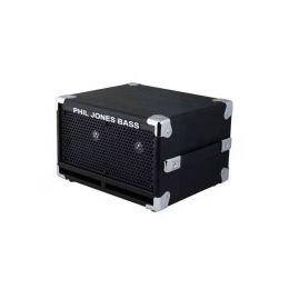 "Phil Jones C2 Compact 2 2x5"" Cabinet In Black 8 Ohm"