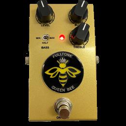 Fulltone Queen Bee Sparkle Gold 3 x Germanium Fuzz Bass/Treble Pedal