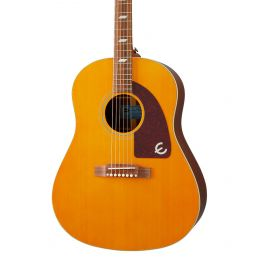 Epiphone Masterbilt Texan Acoustic Electric Guitar in Antique Natural Aged