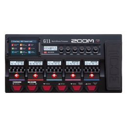 Zoom G11 Multi-Effects with Expression Pedal for Guitar