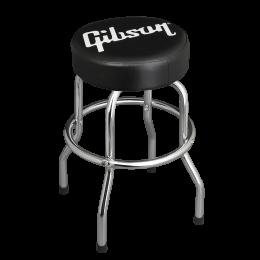 Gibson Premium Playing Stool Standard Logo - Short Chrome