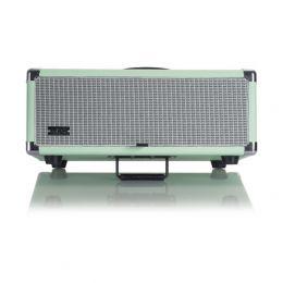 Gator GR-RETRORACK-3SG Vintage Amp Vibe Rack Case - 3U Seafoam Green