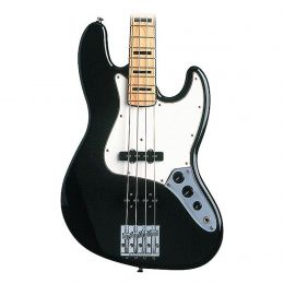 Fender Artist Series Geddy Lee Jazz Bass Guitar in Black Finish