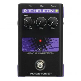 TC Helicon Singles VoiceTone X1 Vocal Effects Processor