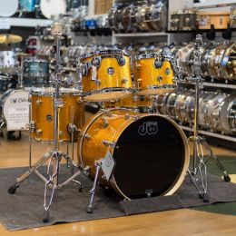 Drum Workshop DRFP205PCGS Performance Series 5pc Shell Kit in Gold Sparkle