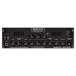 Mesa Boogie Subway WD800 Bass Head with Tube Preamp