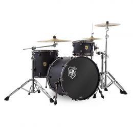 SJC Drums Navigator 3-Piece Kit - Ghost Black w/ Black Nickel Hardware