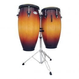 Latin Percussion M846S-VSB Mat Cust 11 & 11.75 Conga Set Vintage Starburst