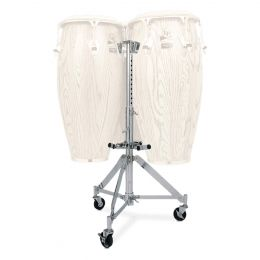 Latin Percussion LP291 Triple Conga Stand, Chrome