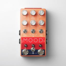Chase Bliss Audio M O O D™ Two Channel Granular Micro-Looper and Delay Pedal