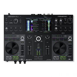 Denon DJ Prime Go - 2 Deck Rechargeable Smart DJ Console with Touch Screen
