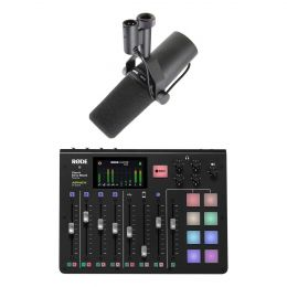 Rode Rodecaster Pro Bundle with Shure SM7B Dynamic Vocal Microphone