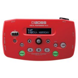 Boss VE-5 Red Vocal Performer Effects Processor