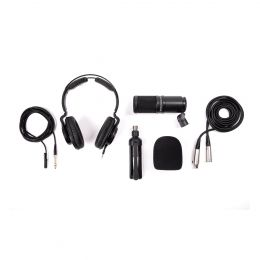Zoom ZDM-1PMP Podcast Accessory Bundle