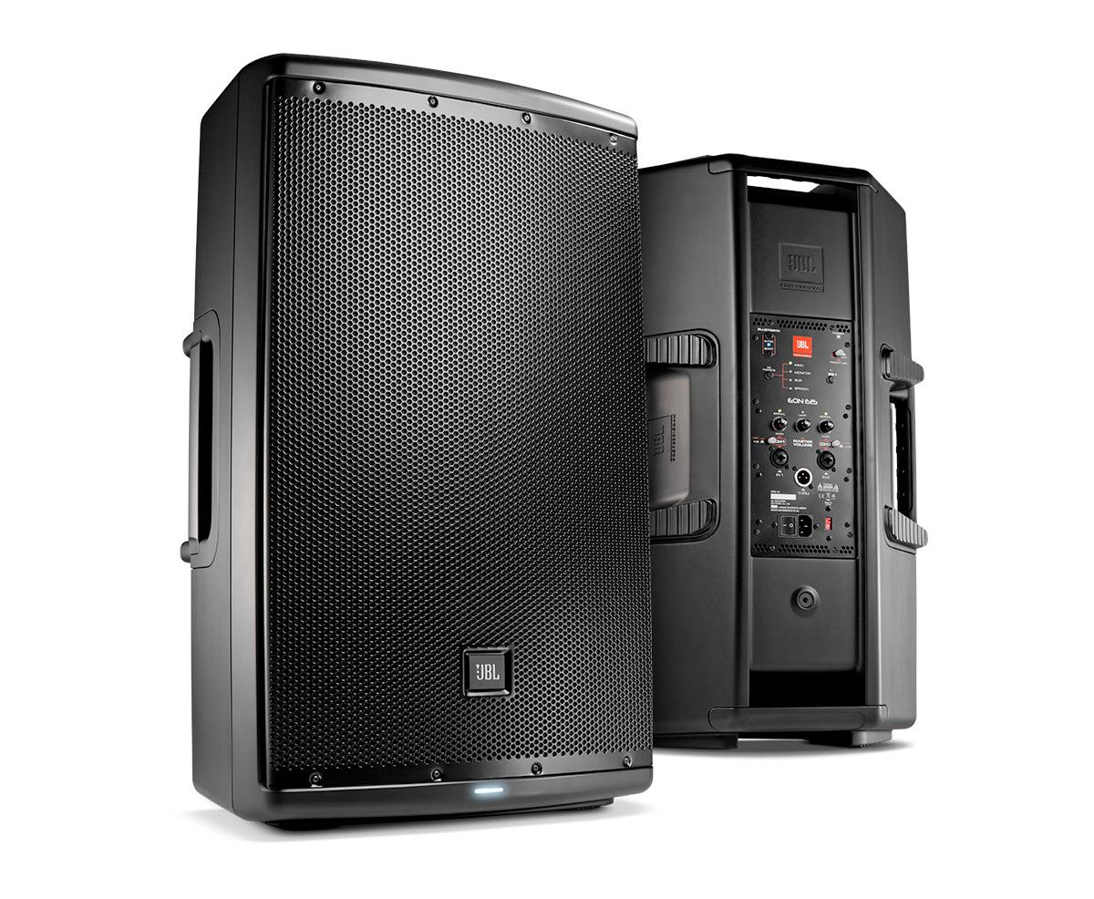jbl eon 615 powered 15 two way speaker system ebay. Black Bedroom Furniture Sets. Home Design Ideas