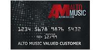 Alto Music Credit Card