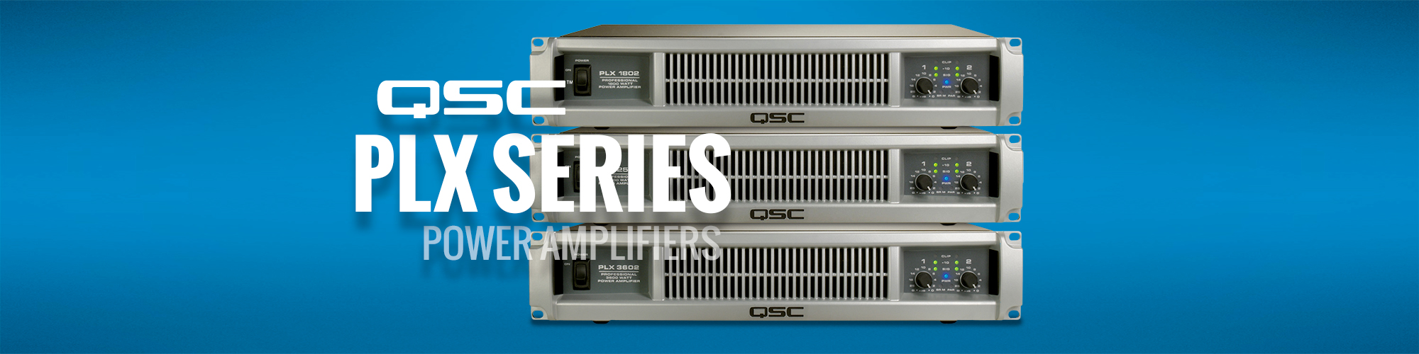 QSC PLX Series