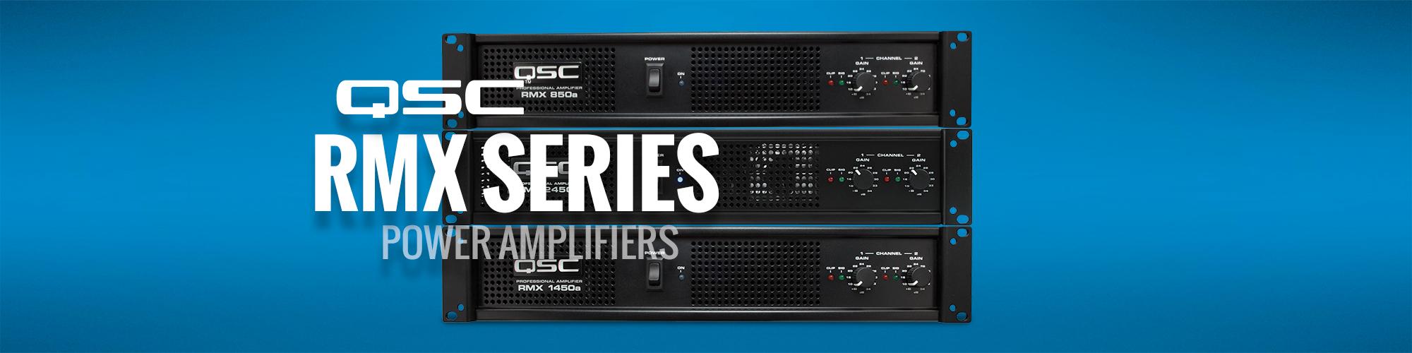 QSC RMX Series