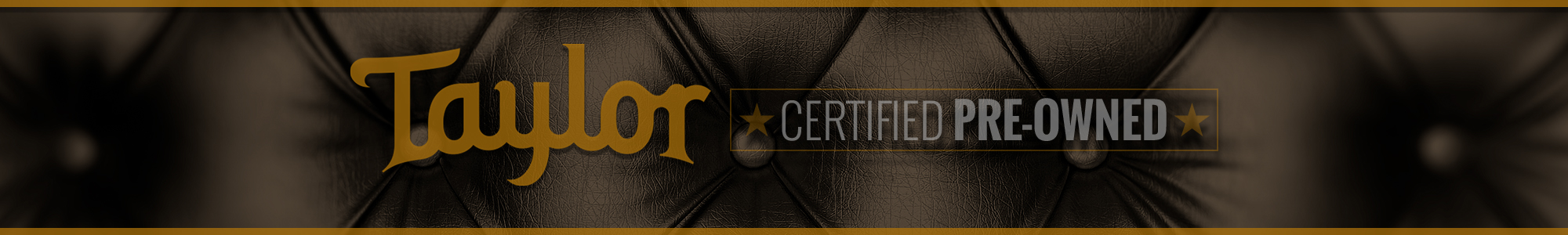Taylor Certified Pre-Owned