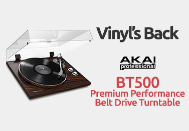 Akai BT500 Premium Performance Belt Drive Truntable