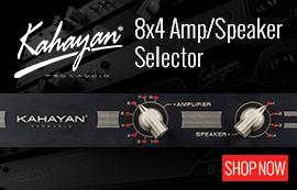 Kahayan 8x4 Amp/Speaker Selector