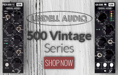 Lindell Audio 500 Vintage Series